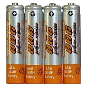 Endurance AAA Rechargeable Batteries