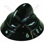 Electrolux Black Main Oven Control Knob