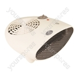 Prem-I-Air 2.4 kW Fan Heater With 2 Settings and Thermostat - Type EU Model