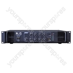 NJS PA2000 Series 100 V PA Mixer Amplifier - Power RMS (W) 60