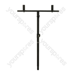 Heavy Duty Extending 35 mm Goal post Speaker Pole