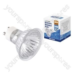 1pc Gift Box GU10 50w 240v Dichroic Halogen Bulb
