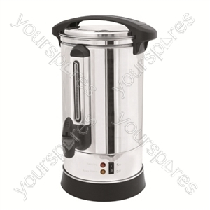 10Ltr 1500w Stainless Steel Catering Urn/Water Boiler