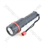 HomeLife 2AA Rubber LED Torch