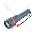 HomeLife 3D Rubber LED Torch
