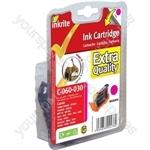 Inkrite NG Printer Ink Canon i560 i865 i950 S800 BJC6000 iP4000 - BCI-6 Magenta (Elephant, Giraffe)