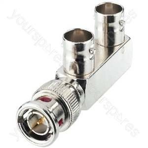 BNC Adaptor - Bnc Y Splitter, 75ω