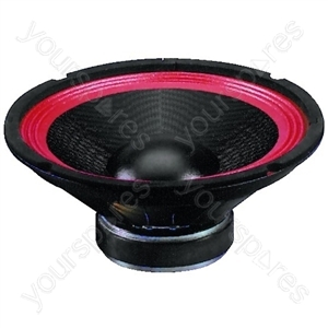 PA Woofer - Pa And Power Bass-midrange Speaker, 100 w, 8 ω