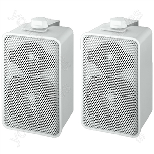 2way Speaker Cabinet - Pairs Of Universal 2-way Speaker Systems, 20 w<sub></sub>, 4 ω