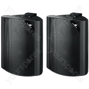 2way Speaker Cabinet - Pair Of 2-way Speaker Systems, 80 w, 8 ω