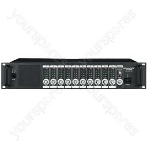 Monitor Unit - Monitor Unit, 10 + 1 Channels