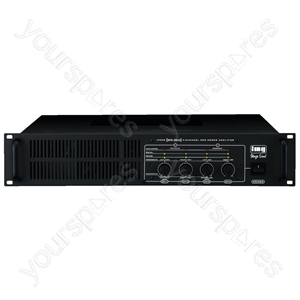 Amplifier - 4-channel Professional Pa Amplifier, 1,000 w