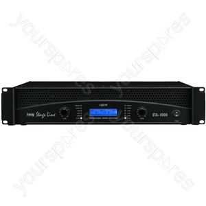Amplifier - Professional Stereo Pa Amplifier