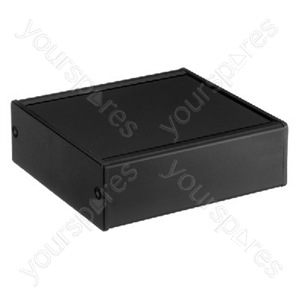 Alu Utility Case/Black - Series Of Utility Cases