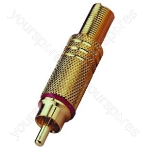 Cinch Plug - Rca Plug