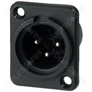 XLR Plug - Xlr Panel Connectors, 3poles