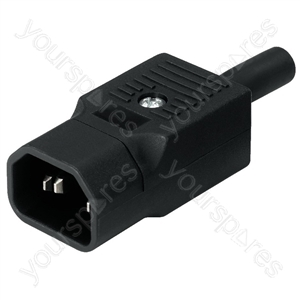 Cold Appliances Plug - 3-pin Iec Plug