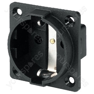 Chassis Jack - Earthed Panel Socket