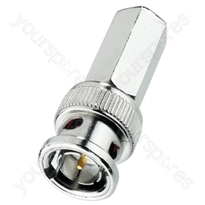 BNC Plug - Bnc Screw Plug For Cables: ø 5 mm, 50 ω