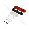 Zanussi Dishwasher Wheel Support Kit