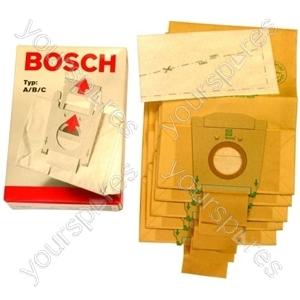 Bosch + 2 Filters Vacuum Bags