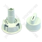 Bosch White Tumble Dryer Control Knob
