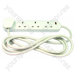 Extension Lead 4 Gang 2 Metre 13 Amp