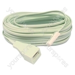 Telephone Extension Lead 15 Metre