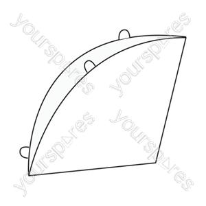 Filter Queen Cone Filter (pack 12 Vacuum Filter