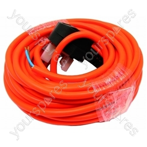 Flex 12 Metre 1mm 2 Core Free End Orange