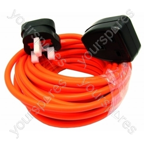 Flex 10 Metre 1.5mm 3 Core Ext Lead Orange