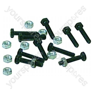 Element Nut And Bolt 10 Pack