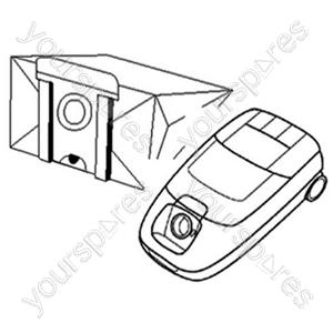 AEG Vampyr 821-881 Vacuum Bags