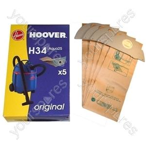 Hoover H34 Vacuum Bags