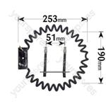 Creda Fan Oven Element 2500w