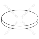 Panasonic Filter Round Mce470 Vacuum Filter