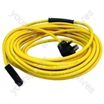 Flex 15 Metre 1.5mm 3 Core With E Plug Yellow