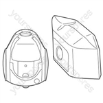 LG Tb-36 Vacuum Bags