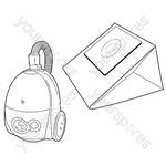 Goblin Topo Vacuum Bags
