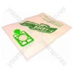 Numatic 5 Layer Microfibre Vacuum Bags (10 Pack)