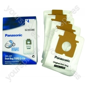 Panasonic High Efficiency Vacuum Bags X 4