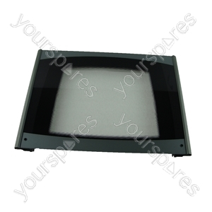 Door Glass Main Oven Silver Cannon