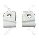 Hotpoint AQUARIUS Washing Machine Tumble Dryer Door Hinge Guides Late