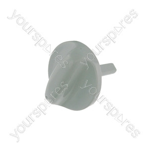 Electric Oven Knob Main Push Nickel
