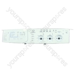 Indesit WIDL146UK White Washing Machine Control Panel Faceplate
