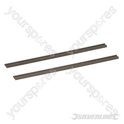 Tungsten Carbide Planer Blades 2pk - 82 x 5.5 x 1.1mm ...