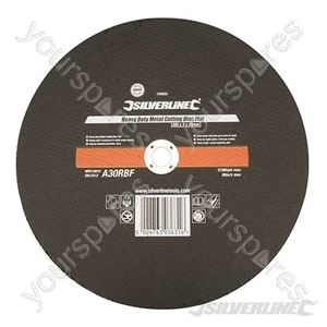 Heavy Duty Metal Cutting Disc Flat - 300 x 3 x 20mm