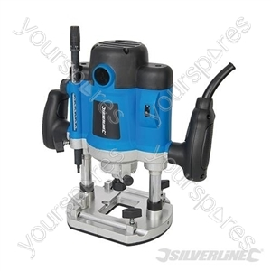 "Silverstorm 2050W Plunge Router 1/2"" - 2050W"