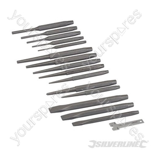 Punch & Chisel Set 16pce - 16pce