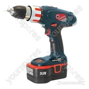 Silverstorm Combi Hammer Drill 24V - 24V